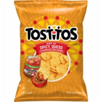 Tostitos Hint of Spicy Queso Flavored Tortilla Chips - 11 oz