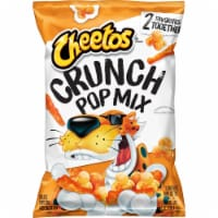 Cheetos Crunch Pop Mix Cheddar Flavored Cheese Snacks