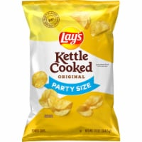 Lay's Kettle Cooked Original Potato Chips - 13 oz