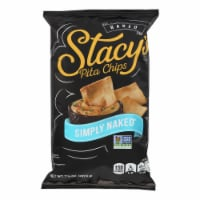 Stacy's Pita Chips Simply Naked Pita Chips - Case of 12 - 7.33 oz. - Case of 12 - 7.33 OZ each