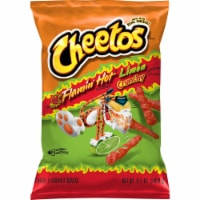 Cheetos Crunchy Hot Limon Cheese Flavored Snacks