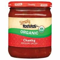 Tostitos Simply Organic Medium Chunky Salsa