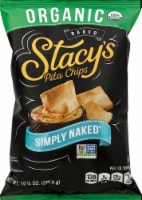 Stacy's Simply Naked Organic Baked Pita Chips Snacks 10.25 oz