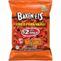 Baken-Ets Hot Sauce Chicharrones Fried Pork Skins