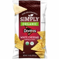 Doritos Simply Organic White Cheddar Cheese Flavored Tortilla Chips