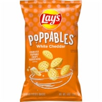 Lay's Poppables White Cheddar Potato Chips Snacks