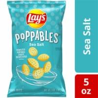Lay's Poppables Potato Chips Snacks Sea Salt Flavor Bag