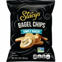 Stacy's Simply Naked Bagel Chips Snacks - 7 oz
