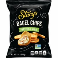 Stacy's Toasted Garlic Bagel Chips Snacks - 7 oz