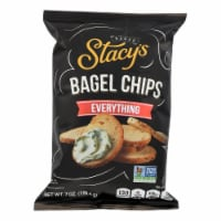 Stacy's Pita Chips Bagel Chips - Everything - Case of 12 - 7 oz - Case of 12 - 7 OZ each