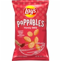 Lay's Poppables Potato Chips Snacks Honey Barbecue Flavor
