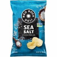Red Rock Deli Kettle Chips Sea Salt Deli Style Potato Chips Snacks