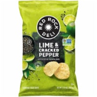 Red Rock Deli Lime and Cracked Pepper Kettle Style Potato Chips