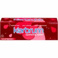 Klarbrunn® Raspberry Sparkling Water - 12 cans / 12 fl oz
