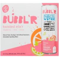 Bubbl'r Twisted Elix'r Antioxidant Sparkling Water - 6 cans / 12 fl oz