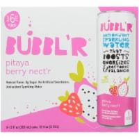 Bubbl'r Pitaya Berry Nect'r Antioxidant Sparkling Water - 6 cans / 12 fl oz