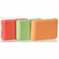 Casabella Shiny Microfiber Sponges - 3 pk
