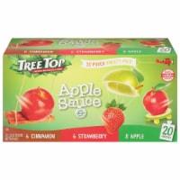 Tree Top Cinnamon Apple & Strawberry Apple Sauce Variety Pack - 20 ct / 3.2 oz