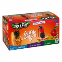 Tree Top Tropical Apple & Mixed Berry Apple Sauce Variety Pack - 20 ct / 3.2 oz