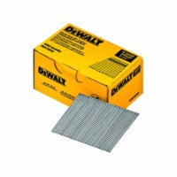 DeWalt  2-1/2 in. 16 Ga. Angled Strip  Finish Nails  20 deg. Smooth Shank  2500 pk - Case Of: - Count of: 1