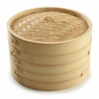 Nordic Ware 2-Tier Bamboo Steamer - Natural