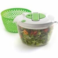 Norpro 6.8 Quart Deluxe Removable Colander Strainer Herb Vegetable Salad Spinner - 1 Unit