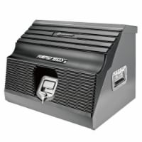 Powerbuilt Rapid Box Portable Slant Front Lockable Toolbox for Truck or Garage