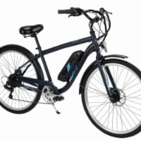 Huffy E4869 Transic 26 in. Electric Mountain Bike for Adults, Black