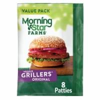 Morningstar Farms Grillers Original Veggie Burgers 8 Count
