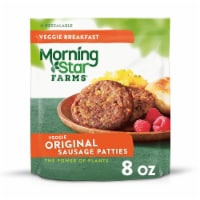 MorningStar Farms Frozen Veggie Breakfast Sausage Patties Original