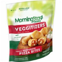 MorningStar Farms Veggitizers Plant-Protein Meatless Pepperoni Pizza Bites - 9.5 oz