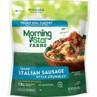 MorningStar Farms Meal Starters Plant-Protein Italian Crumbles - 10 oz