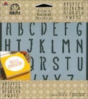 Plaid® Folk Art Alphabet Stencil