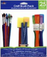 Plaid All-Purpose Craft Brush - Assorted - 25 Piece