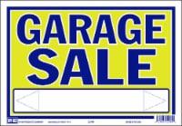 Hy-Ko Neon Garage Sale Sign - 9 x 13 in
