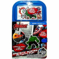 Tara Toys 53885 Marvel Avengers Magnetic Scenes Activity Fun Book