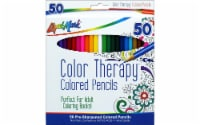 Liquimark Colored Pencil Set Color Therapy 50pc - 1
