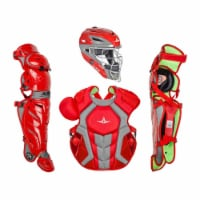 All-Star Sports Axis Pro System 7 Adult Plastic Protective Catchers Set, Scarlet - 1 Piece