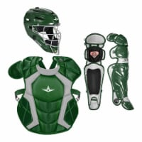 All-Star Sports Axis Pro System 7 Adult Plastic Protective Catchers Set, Green - 1 Piece