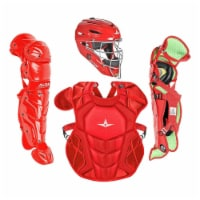 All-Star Sports Axis Pro System 7 Ages 12-16 Protective Catcher Set, Scarlet - 1 Piece