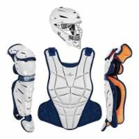 All-Star Sports AFx Fastpitch Adult Protective Catcher Set, Black/Navy, Medium - 1 Piece