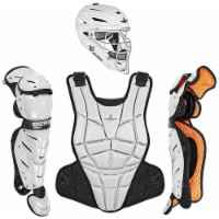 All-Star Sports AFx Fastpitch Adult Protective Catcher Set, Black/White, Small - 1 Piece