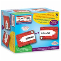 WordWall Challenge™ Card Game, Compound Words, 3-1/2  x 2-1/2 , 300 Cards - 1