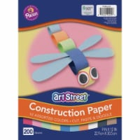 Pacon - Construction Paper Value Pack - 9  x 12 - 1