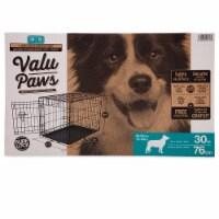 Valu Paws 1 Door Wire Dog Crate
