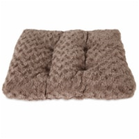 Petmate Plush Kennel Mat - Brown