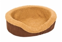 Aspen Pet Assorted Faux Micro Suede Pet Bed 5 in. H x 14 in. W x 17 in. L - Case Of: 1; - Count of: 1