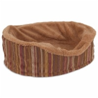 Petmate Antimicrobial Oval Pet Bed