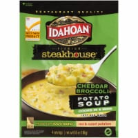 Idahoan Steakhouse Chedder Broccoli Potato Soup