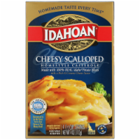Idahoan Cheesy Scalloped Homestyle Casserole Potatoes